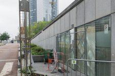 Maison de l'amitié: les vitres vandalisées, maintenant réparées