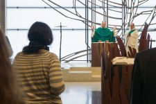 Repas de la foi: une pause dans la vie de salariés pressés