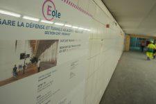 RER E : une gare cathédrale creusée sous le Cnit