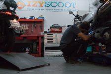 Cette start-up répare scooters etmotos au pied des tours