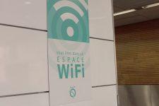 Wifi gratuit pour lagare routière et le T2