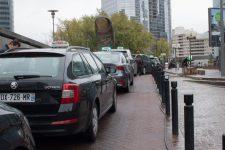 A la Défense, les taxis aussi font leurs affaires