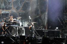 Le groupe allemand Rammstein à Paris