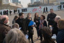 Transformer l'esplanade en parc: chacun ses demandes