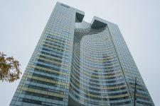 Toshiba emménage dans la tour Eqho