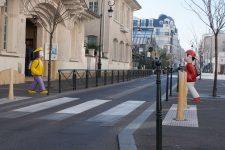 Un passage piéton en 3D pour alerter les conducteurs