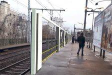 SNCF : un an d'essai à Vanves-Malakoff pour les «rideaux de quais»