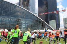 Un record de 4000 participants pour le Challenge  contre la faim de la Défense