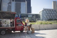 Food truck : une terrasse