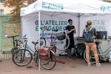 La RATP déploie un atelier-test deréparation de vélos à Nanterre-ville