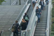 Certains escalators remis en service