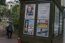 Faute de ventes, plus dekiosque à journaux à Gambetta