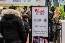 Un job dating au coeur du centre commercial