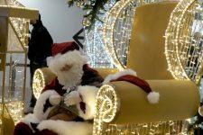 Le Père Noël fait déjà des heureux aux 4 Temps