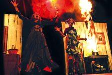 Des sorcières aux pouvoirs pyrotechniques