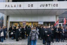Blocage du tribunal, la colère des avocats