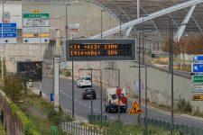 Le tunnel de l'A14 fermée après les travaux de la tour Trinity