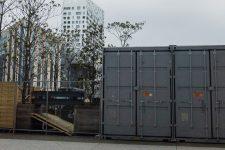 Atelier pour vélos, un double conteneur  réaménagé prochainement