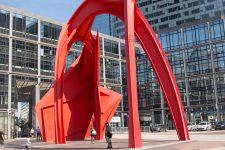 Découvrir les sculptures de la Défense sur son smartphone
