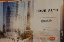 Tour Alto, fin des travaux etcommercialisation à venir