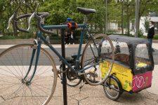 Mai à vélo s'installe à la Défense