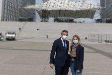 Départementales: Marie-Pierre Limoge et Vincent Franchi se lancent dans la course