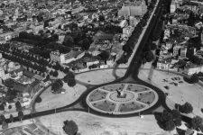 Le rond-point de Courbevoie